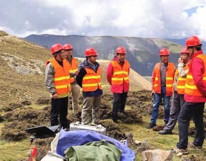 物化探队深部找矿项目中期检查获评优秀